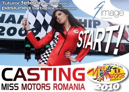 Casting Miss Motors Romania 2010