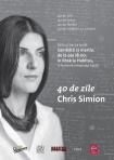 Lansare de carte Chris Simion la Libraria Habitus