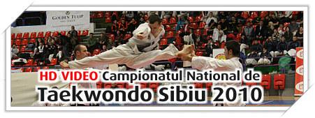Campionatul National de Taekwondo Juniori si Seniori Sibiu 2010 Video