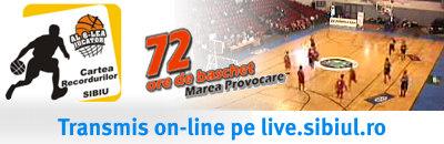 Live pe internet prin www.sibiul.ro