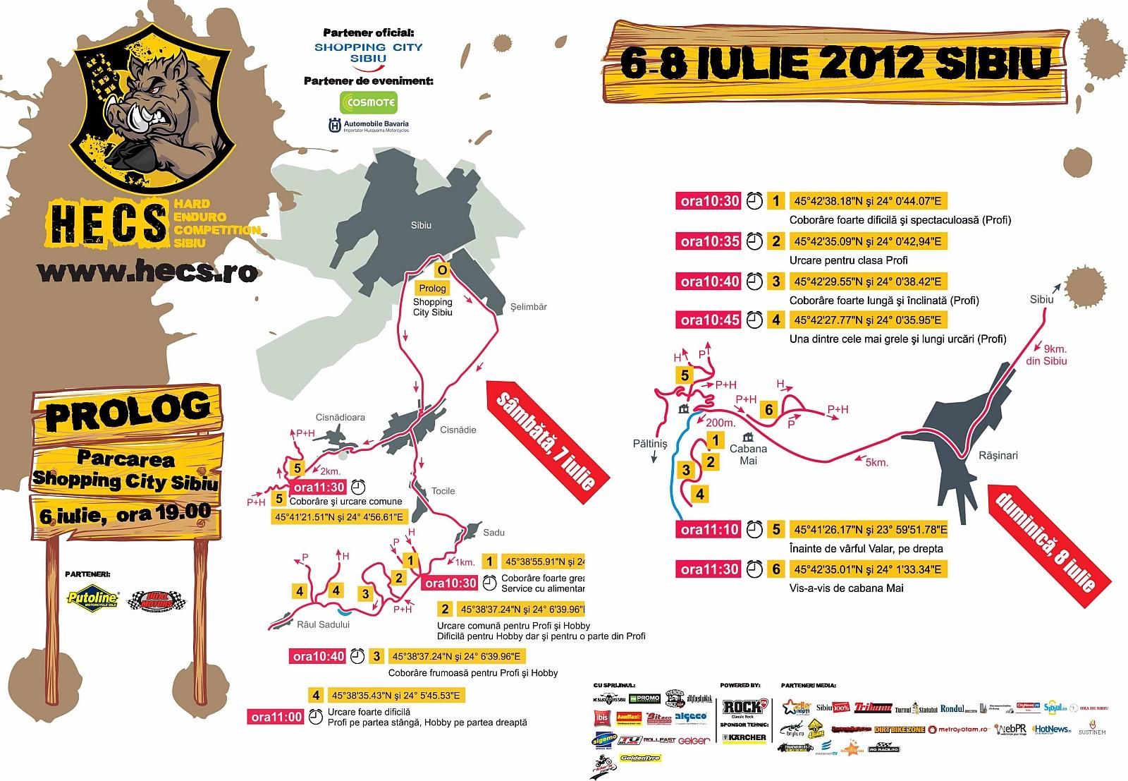 Puncte spectatori HECS 2012 / Enduro Sibiu