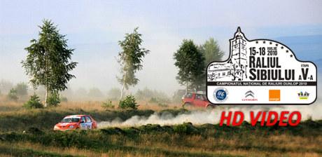 Filme HD de la Raliul Sibiului 2010