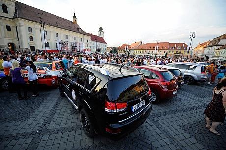 Raliul Sibiului 2011 - Piata Mare