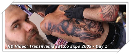 Transilvania Tattoo Expo Sibiu 2009