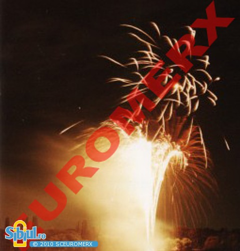 Focuri de artificii,Artificii interior/exterior,Vulcani,Cascade,Jerbe,Artificii TORT,Efecte Pirotehnice -NOI APRINDEM CERUL SI INIMILE..!