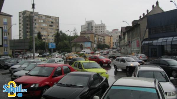 Ploaie torentiala 13 mai Sibiu