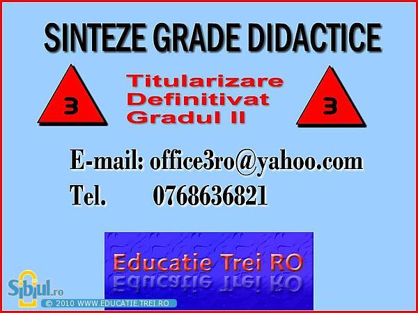 www.educatie.trei.ro - Sinteze psihopedagogie, consiliere, terapie, pedagogie, psihologie