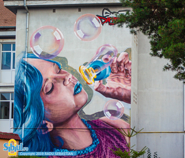 Sibiu International Street ART Festival 2019