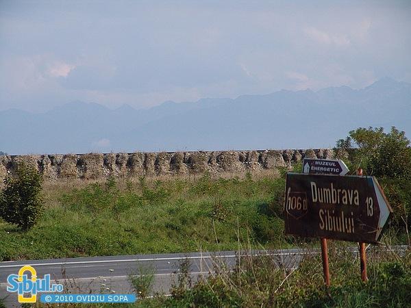 2007 Centura Sibiului - Lucrari abandonate
