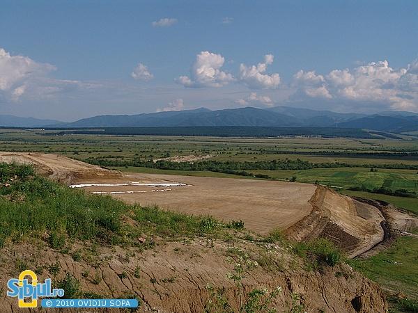 Aeroportul Sibiu 2007 - Prelungirea pistei catre Cristian