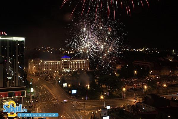 Artificii la Festivalul International de Teatru Sibiu 2011