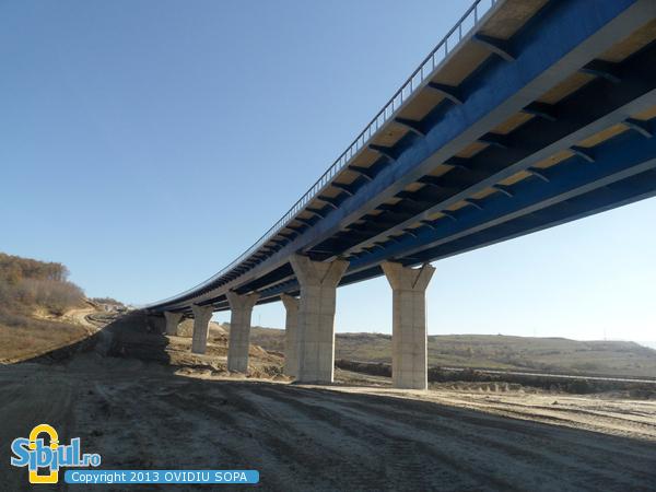 Autostrada A1 Orastie Sibiu / KM 71 / Octombrie 2013