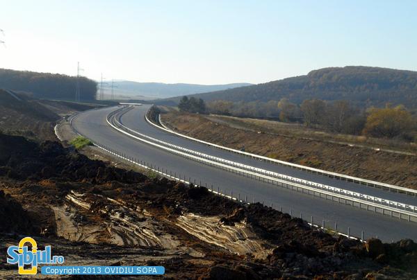 Autostrada A1 Orastie - Sibiu / KM 80 / Octombrie 2013
