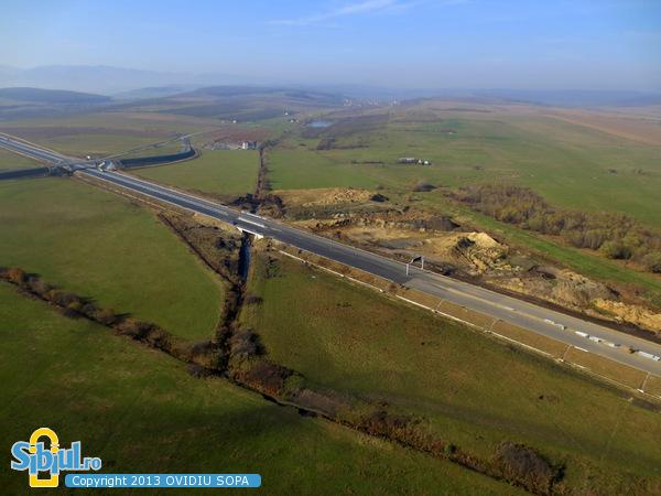 Autostrada A1 Orastie - Sibiu, Nod rutier Sura Mica / KM 82 / Noiembrie 2013