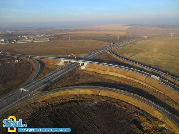 Autostrada A1 Orastie - Sibiu / Nod rutier Sura Mica / KM82