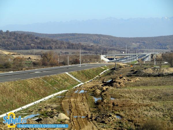 Autostrada A1 Orastie - Sibiu / Octombrie 2013