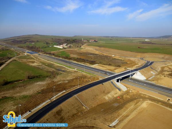 Autostrada A1 Orastie - Sibiu / Tunel Sacel / KM 71 / Noiembrie 2013