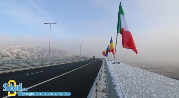 Autostrada A1 Orastie - Sibiu, Viaduct - Tunel  Sacel