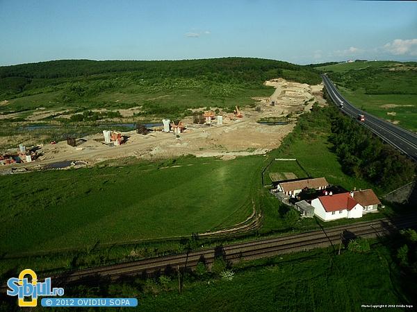 Autostrada A1 Orastie - Sibiu / Viaducte gemene Sacel (Km 71)