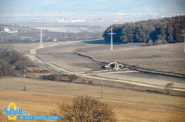 Autostrada Sibiu - Orastie - noiembrie 2011