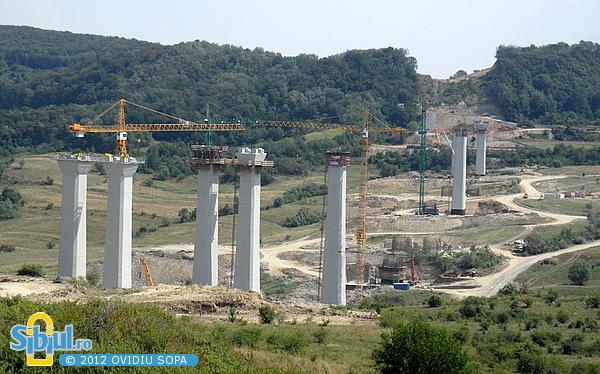 Autostrada A1 Orastie - Sibiu / Km 62 / August 2012