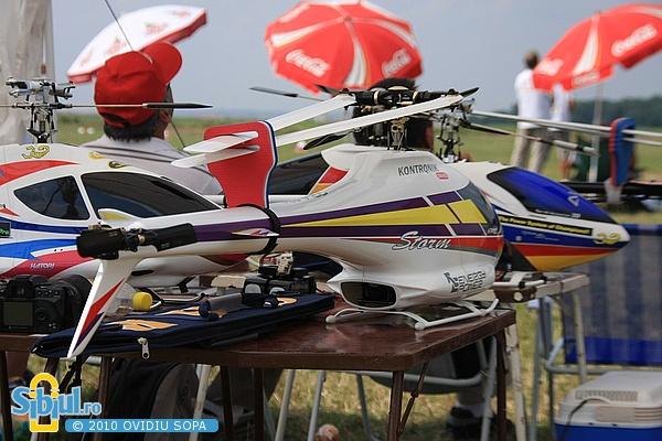 Campionatul European de aeromodelism - elicoptere clasa F3C 2010