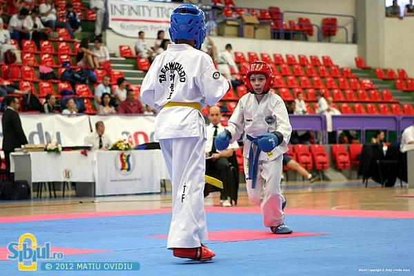 Campionatul National de Taekwon-Do pentru copii Sibiu 2012