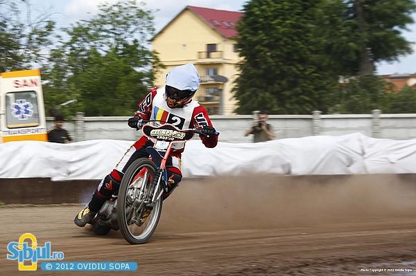 Campionatul national individual dirt-track Sibiu 2012, Etapa II