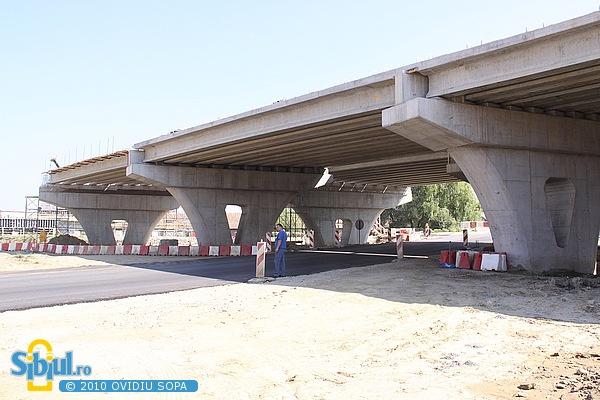 Iunie 2010 / Centura Sibiului: Pod peste Cibin in Gusterita