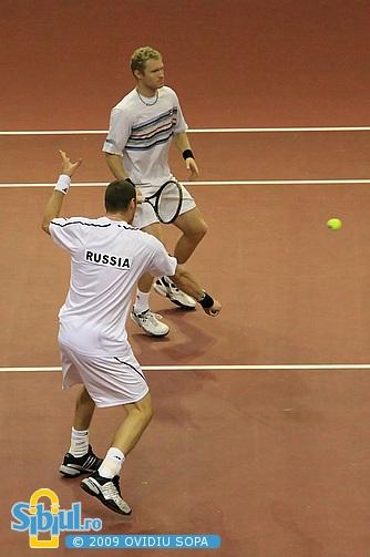 Marat Safin si Dmitry Tursunov