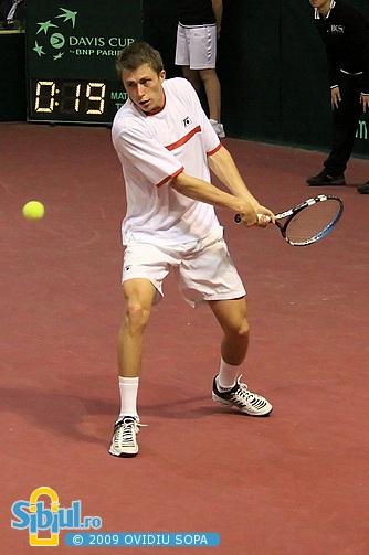 Cupa Davis: Victor Crivoi