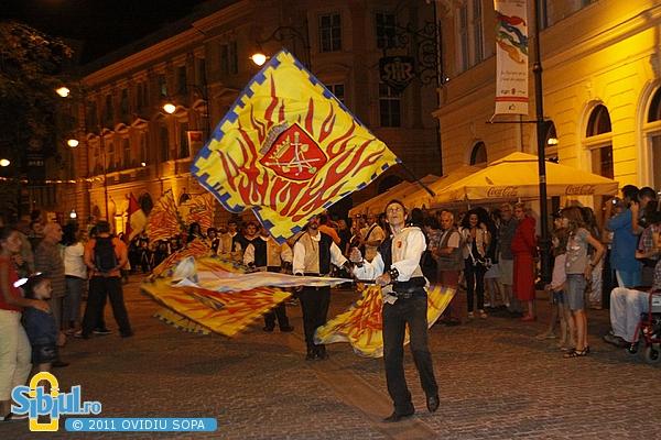 Festivalul Medieval Cetati Transilvane Sibiu 2011