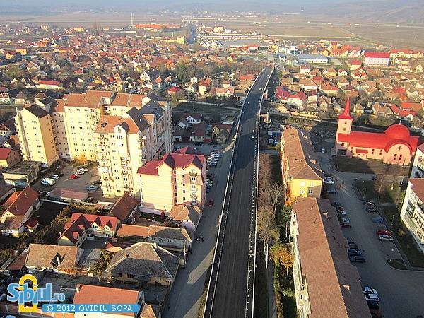"""Fotografii aeriene cu Viaductul \""""Gara Mica\"""" - 16.11.2012"""