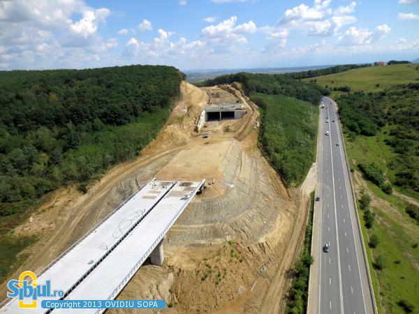 Autostrada A1 / KM71 / Viaduct si Tunel Sacel / 31 August 2013