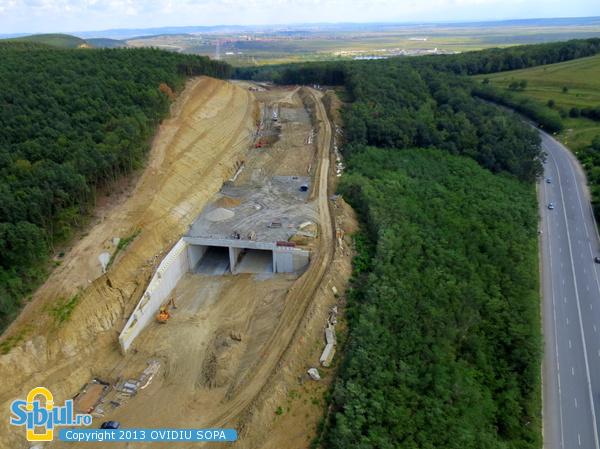 Autostrada A1 / KM72 / Tunel Sacel / 31 August 2013