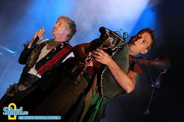 In Extremo la Rockin Transilvania 2009