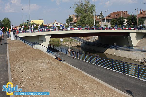 Inaugurarea noului Pod peste Raul Cibin - Iulie 2012