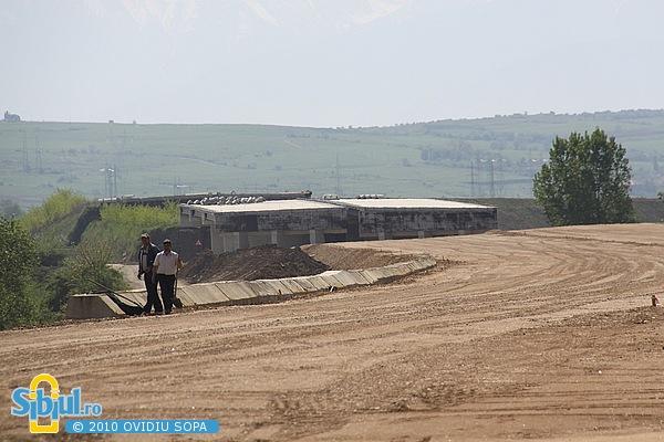 Mai 2010 / Centura Sibiului intre Calea Gusteritei si DN106 (Agnita)