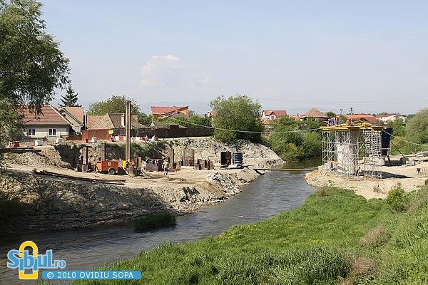 Mai 2010 / Centura Sibiului peste Raul Cibin si Calea Gusteritei