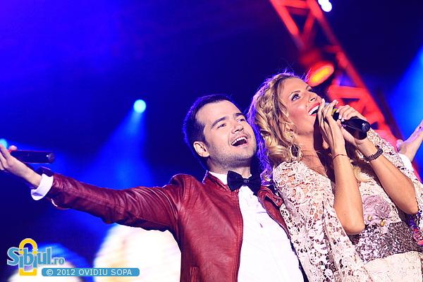 Andreea Banica la Media Music Awards Sibiu 2012