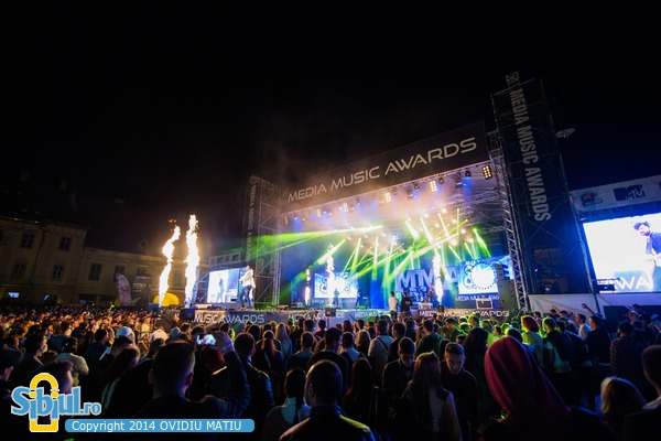 Media Music Awards Sibiu 2014