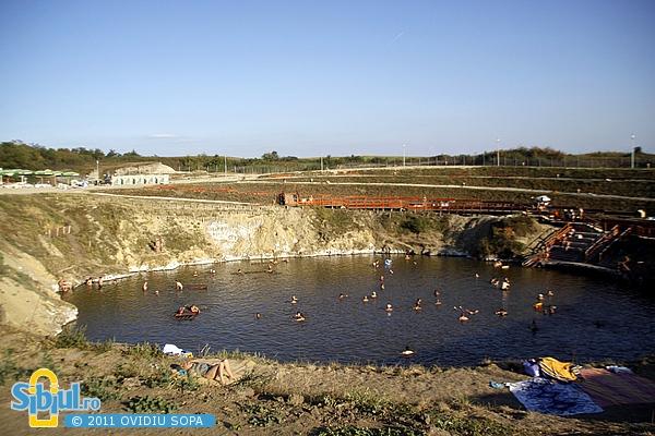 Ocna Sibiului: Lacul Brancoveanu