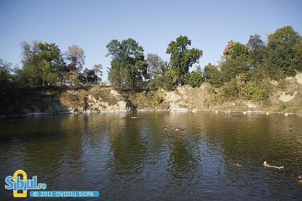 Ocna Sibiului: Lacul Avram Iancu