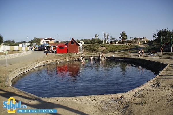Ocna Sibiului: Lacul cu Namol