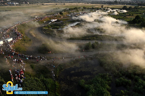Raliul Sibiului 2012 IRC / Aerial Photo SS5