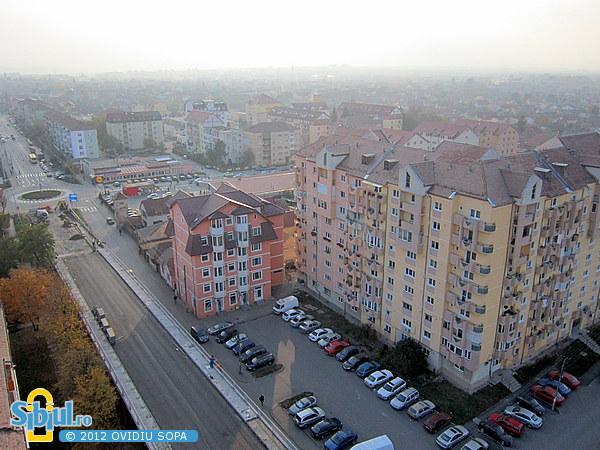 """Reabilitarea viaductului \""""Gara Mica\"""", DN14 spre Medias / Octombrie 2012"""