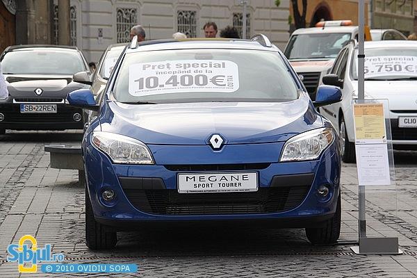 "Renault Megane Sport Tourer la \""Masinaria 2010\"""