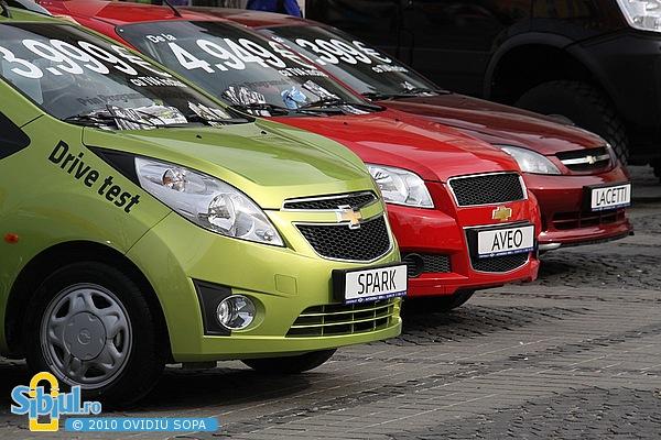 """Chevrolet la Salonul Auto \""""Masinaria 2010\"""""""