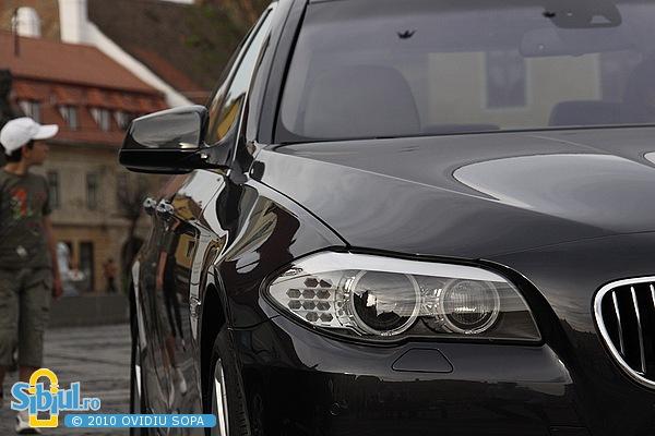 """BMW 530d la Salonul Auto \""""Masinaria 2010\"""""""