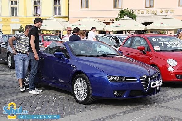 """Alfa Romeo Spider la Salonul Auto \""""Masinaria 2010\"""""""